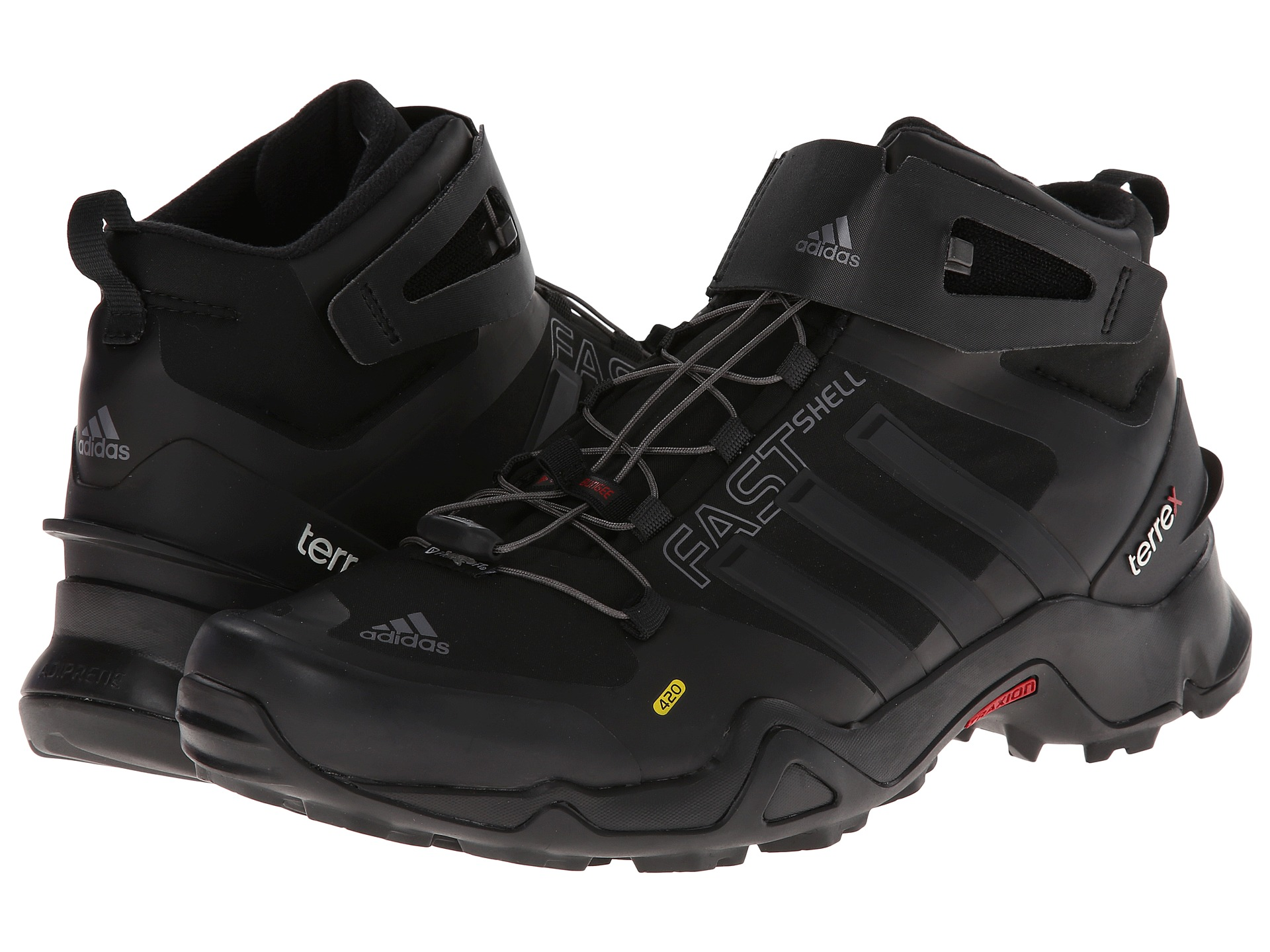 Adidas outdoor terrex fastshell mid shipped free at zappos