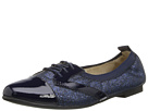 Venettini Kids - 55-Jenny (Little Kid/Big Kid) (Navy Gloss/Glitter Patent) - Footwear