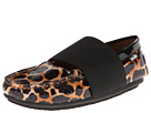 Venettini Kids - 55-Lily (Little Kid/Big Kid) (Luggage Cheetah/Black Patent) - Footwear