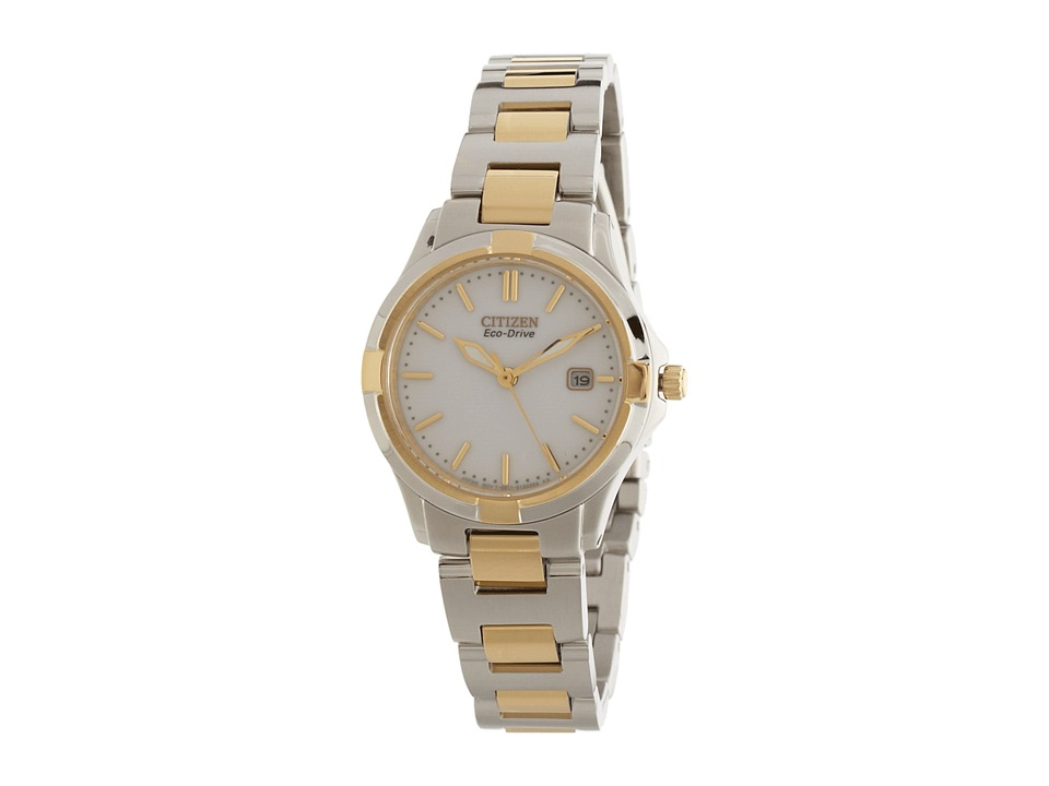 Citizen Watches - EW1964-58A Silhouette Sport (Two Tone Stainless Steel) Watches
