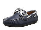 Venettini Kids 55-Scott (Toddler/Little Kid) (Blue Marine Leather)