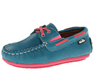 Venettini Kids - 55-Scott (Toddler/Little Kid) (Turquoise Shine Leather)