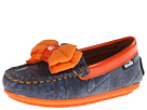 Venettini Kids - 55-Denise 2 (Toddler/Little Kid) (Denim Leather) - Footwear