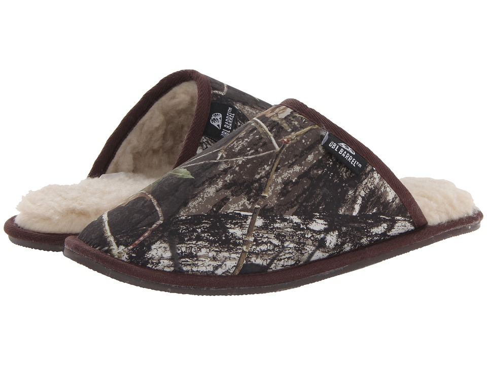 M&F Western - Fleece Slide Slipper (Mossy Oak Camo) Mens Slippers