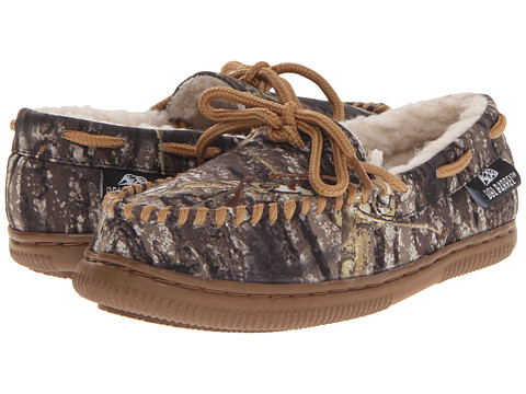 M&F Western Moccasin Slippers (Toddler/Little Kid/Big Kid) - Mossy Oak Camo