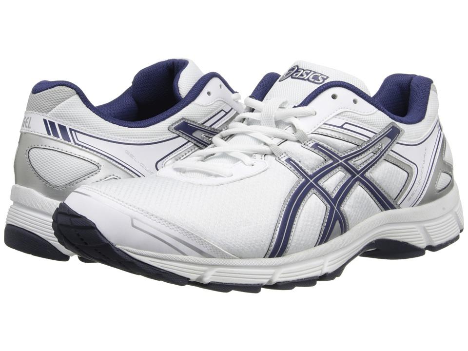 ASICS - GEL-Quickwalk 2 (White/Navy/Silver) Men
