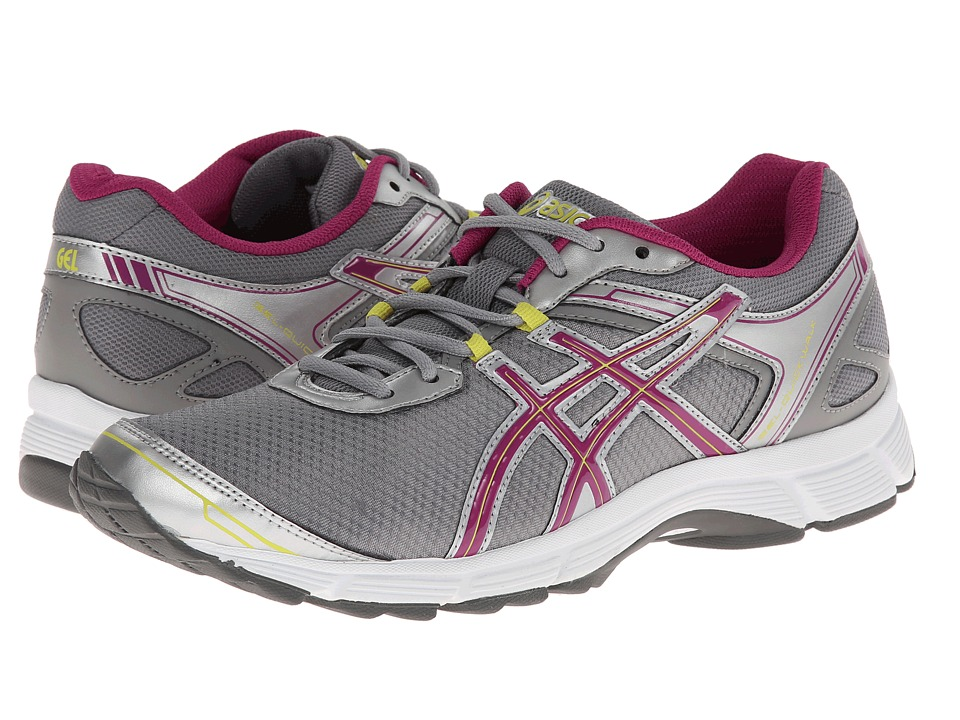 ASICS - GEL-Quickwalk 2 (Silver/Boysenberry/Citron) Women