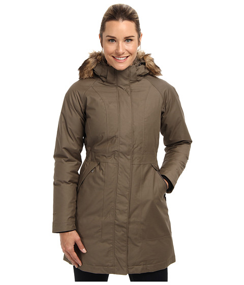 The North Face - Arctic Down Parka (Weimaraner Brown) - Apparel