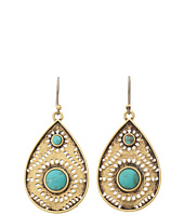 Lucky Brand - Perforated Drop Earring