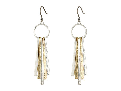 Lucky Brand Metal Paddle Earring - Multi-Color