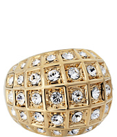 COACH - Beveled Pave Dome Ring