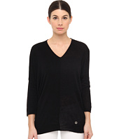 Armani Jeans - V-Neck Color Block Knit