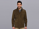 Cole Haan - Coated Field Jacket (Peat) - Apparel