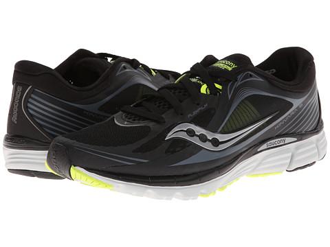 Saucony - Kinvara 5 (Black/Grey/Citron) - Footwear