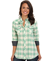 Stetson - 8971 Jade Ombre Plaid