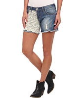Stetson - Denim Short w/ Lace On Front And Back