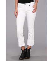 Stetson - White Stretch Denim Crop Pant