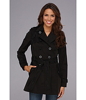 Jessica Simpson - Lace Trim Trench Coat JOFMC619