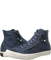 Converse - Chuck Taylor® All Star® Burnished Suede Double Zip Hi