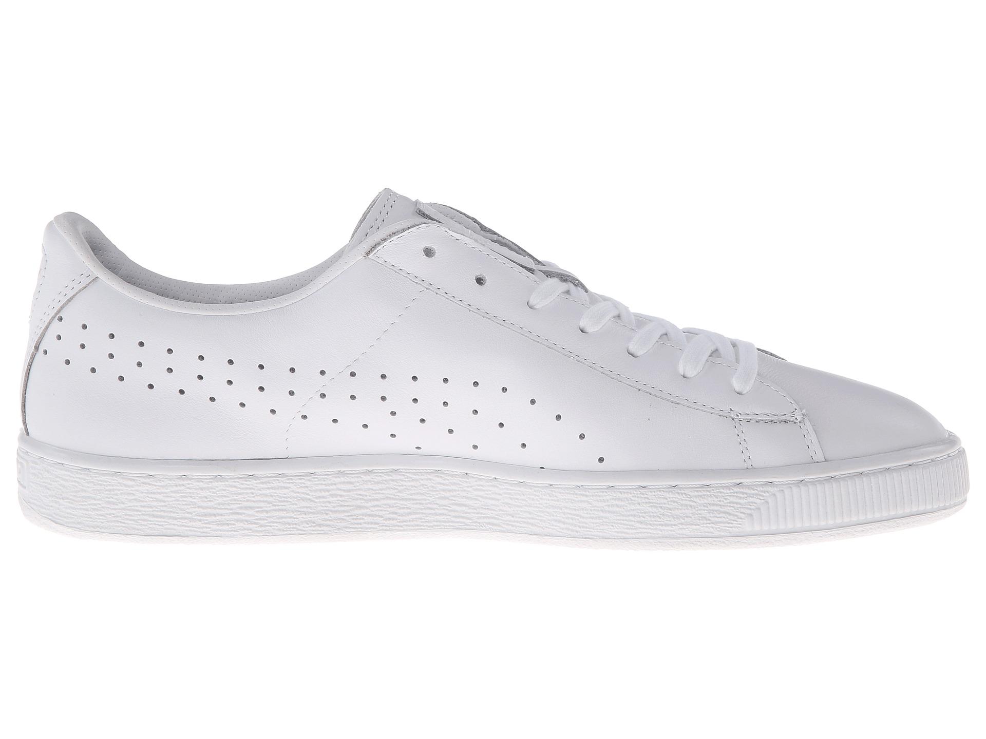 Puma Basket All White