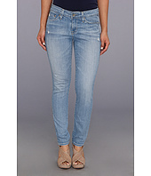 Big Star - Petite Alex Mid Rise Skinny in 20 Year Harbor