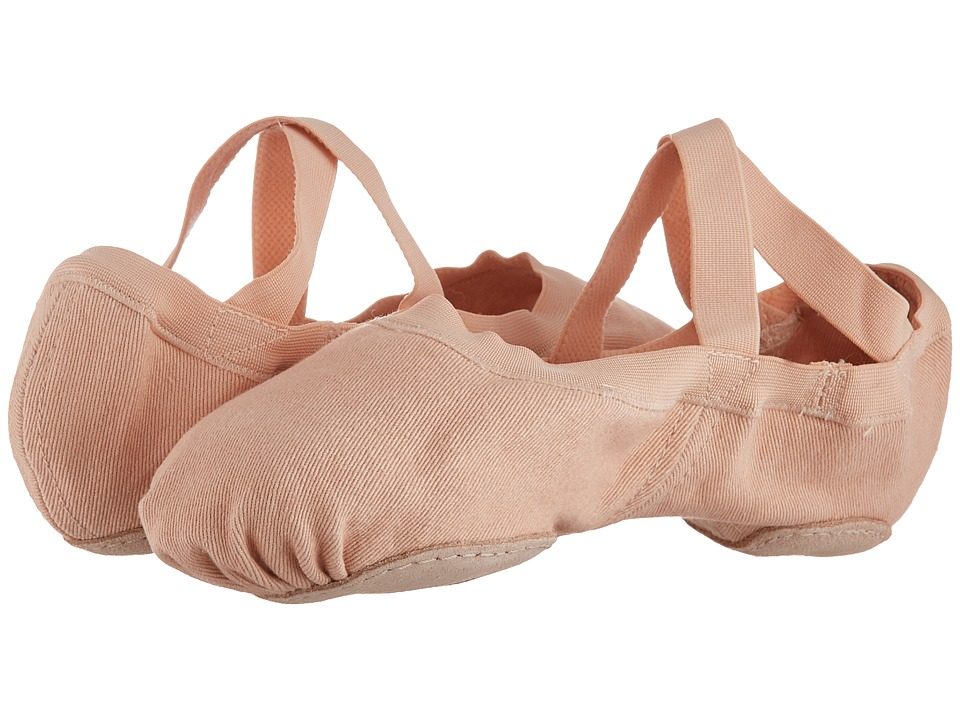 Bloch Synchrony Split Sole Ballet (Pink) Women's Shoes