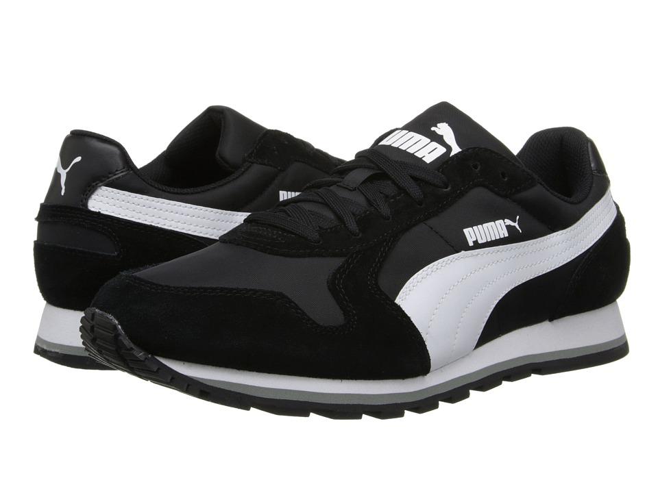 PUMA ST Runner Nylon Black/White Running Shoes