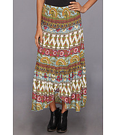 Roper - 8997 Printed Challis 3-Tiered Skirt