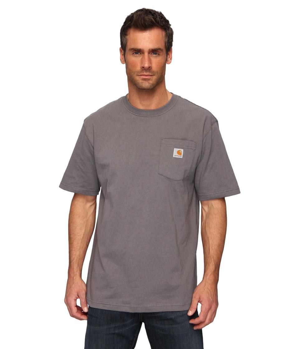 Carhartt - Workwear Pocket S/S Tee K87 (Charcoal) Mens T Shirt