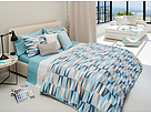 Lacoste - Malmi Twin Comforter Set (Stratosphere) - Home at Zappos.com