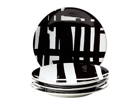 Lenox DKNY by Lenox Urban Graffiti Tidbit Plate Set of 4