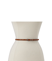 Lodis Accessories - Audrey Skinny Leather Adjustable Hip with Contrast Edge Paint Belt