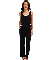 Calvin Klein - Rayon Jumpsuit w/ Piping