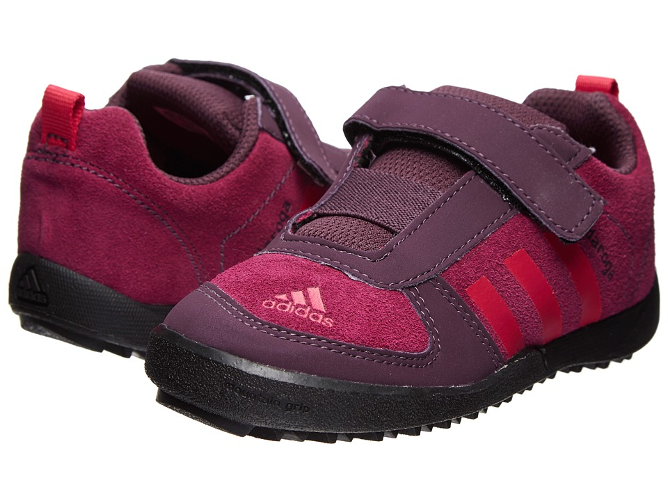 adidas Outdoor Kids Daroga CF Leather Infant/Toddler Tribe Berry/Vivid Berry/Rich Red Girls Shoes