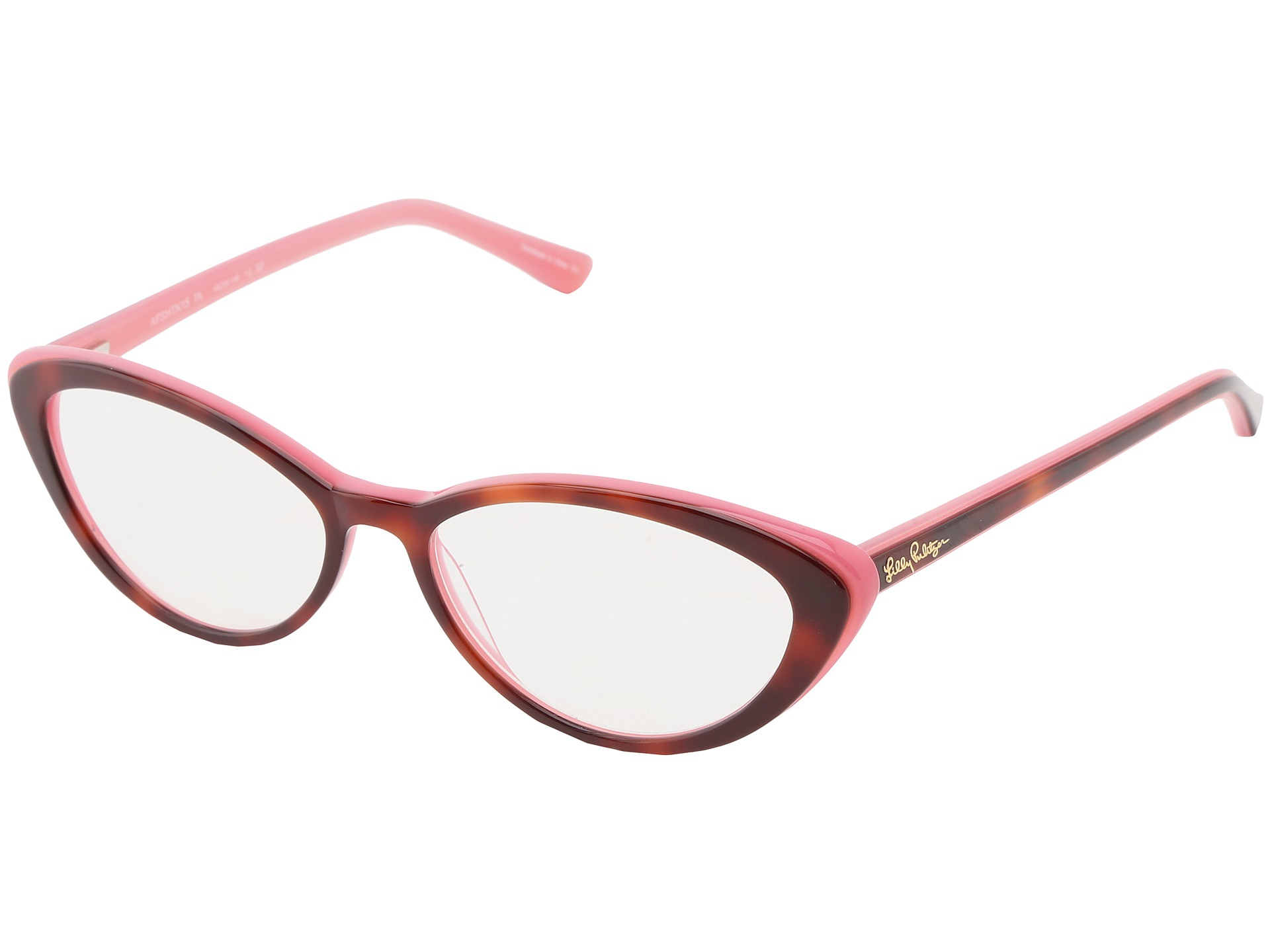 b2e64801047ea Lilly Pulitzer Angel Fish Reader Tortoise Pink Laminate on PopScreen