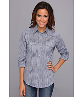 Roper - 9095 Tiny Blue Stripe