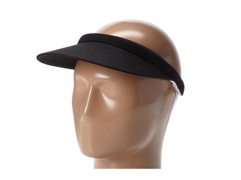San Diego Hat Company CTV038 Womens Snap Visor - Black
