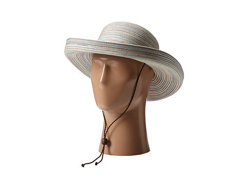 San Diego Hat Company MXM1014 Mixed Braid Kettle Brim Hat - Tan