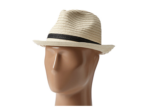 San Diego Hat Company PBF6148 Lurex Mixed Braid Fedora