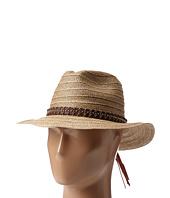 San Diego Hat Company - PBF6160 Wide Brim Leather Studded Fedora