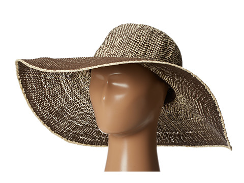 San Diego Hat Company PBL3028 Ombre Paper Floppy - Brown
