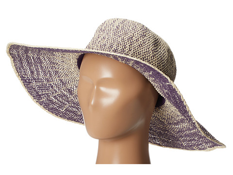San Diego Hat Company PBL3028 Ombre Paper Floppy - Orchid