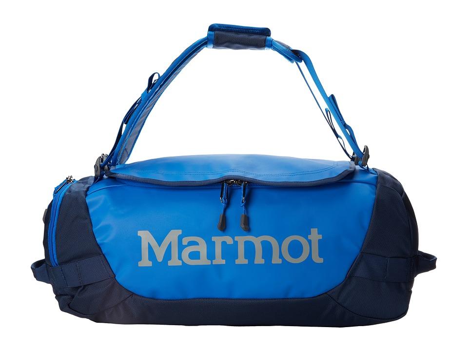 Marmot - Long Hauler Duffle Bag - Small (Peak Blue/Vintage Navy) Duffel Bags plus size,  plus size fashion plus size appare