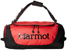 Marmot Long Hauler Duffle Bag Small (Team Red/Black)