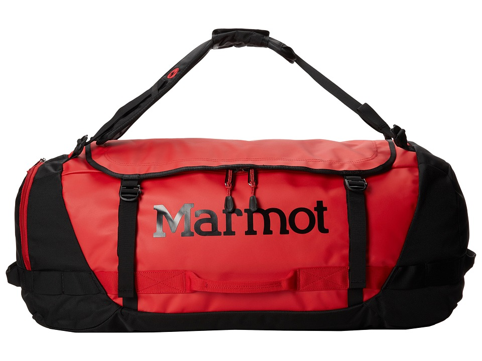 Marmot - Long Hauler Duffel Bag - Large (Team Red/Black) Duffel Bags