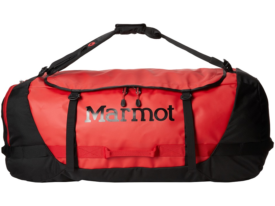 Marmot - Long Hauler Duffel - Extra Large (Team Red/Black) Duffel Bags