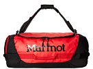 Marmot Long Hauler Duffle Bag (Team Red/Black)