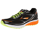 Brooks - Ghost 7 (Black/Orange Peel/Silver) - Footwear