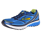 Brooks - Ghost 7 (Electric Blue Lemonade/Lime Punch/Peact Navy) - Footwear