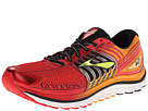 Brooks - Glycerin 12 (High Risk Red/Flam Ornge/Black/Lime) - Footwear